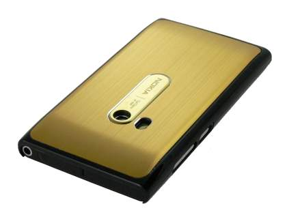 Nokia N9 Brushed Aluminium Case - Gold