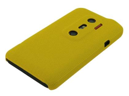 HTC EVO 3D Micro Mesh Case - Canary Yellow