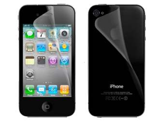 iPhone 4/4S Anti-Glare Screen and Back Protector - Screen Protector