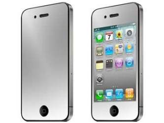iPhone 4/4S Mirror Screen and Back Protector - Screen Protector