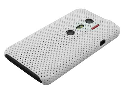 HTC EVO 3D Slim Mesh Case - White