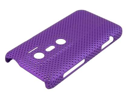 HTC EVO 3D Slim Mesh Case - Purple
