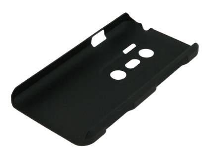 HTC EVO 3D UltraTough Rubberised Slim Case - Black