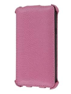Samsung I9100 Galaxy S2 Slim Synthetic Leather Flip Case - Baby Pink