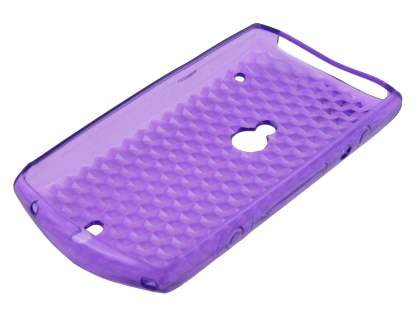 TPU Gel Case for Sony Ericsson Xperia neo - Diamond Purple
