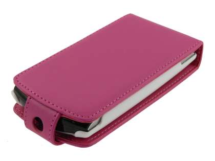 Sony Ericsson Xperia neo Synthetic Leather Flip Case - Pink