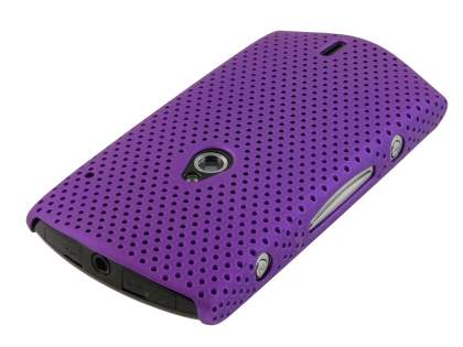 Sony Ericsson Xperia neo Slim Mesh Case - Purple