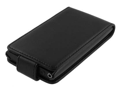 Nokia N9 Synthetic Leather Flip Case - Black