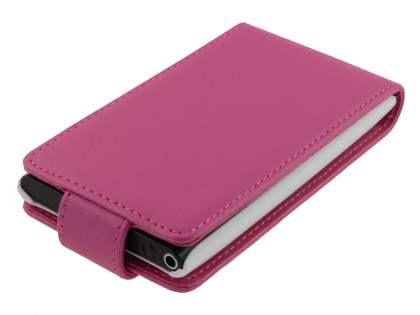 Synthetic Leather Flip Case for Nokia N9 - Pink
