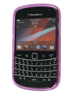 BlackBerry Bold 9900 Wave Case - Frosted Lavender Pink