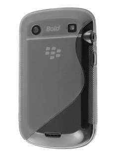 Wave Case for BlackBerry Bold 9900 - Clear Soft Cover