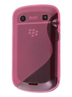 BlackBerry Bold 9900 Wave Case - Frosted Brink Pink