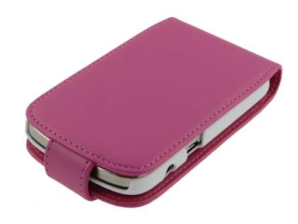 BlackBerry Bold 9900 Synthetic Leather Flip Case - Pink