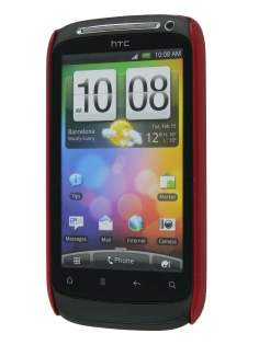 HTC Desire S Dream Mesh Case - Burgundy Red