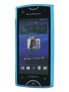 TPU Gel Case for Sony Ericsson Xperia Ray - Diamond Blue