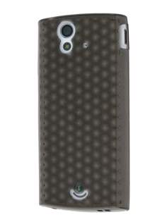 TPU Gel Case for Sony Ericsson Xperia Ray - Diamond Grey