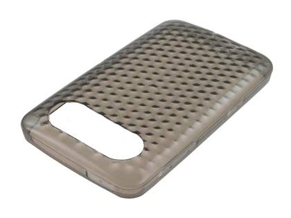 HTC HD7 TPU Gel Case - Diamond Grey