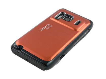 Nokia N8 Brushed Aluminium Case plus Screen Protector - Bronze