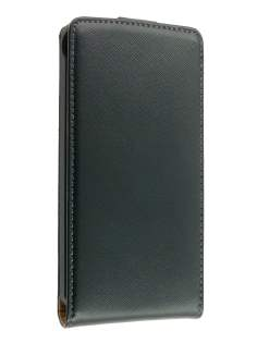 Synthetic Leather Flip Case for Sony Ericsson XPERIA Arc/Arc S - Classic Black