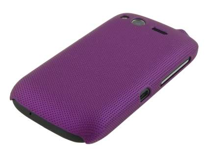 Dream Mesh Case for HTC Desire S - Dark Purple