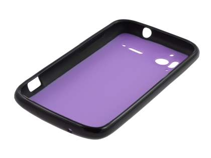HTC Sensation Dual-Design Case - Black/Purple