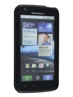 Motorola ATRIX 4G Dream Mesh Case - Classic Black