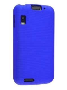 Dream Mesh Case for Motorola ATRIX 4G - Navy Blue Hard Case