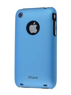 Colour Case for iPhone 3GS/3G - Sky Blue Hard Case