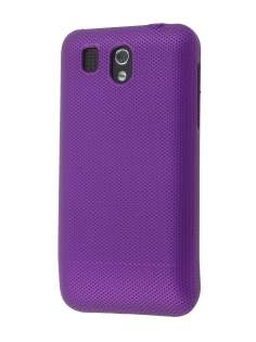 Micro Mesh Case for HTC Legend - Dark Purple Hard Case