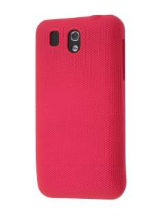 Micro Mesh Case for HTC Legend - Red Hard Case