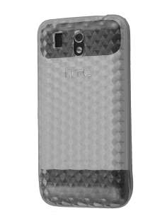 TPU Gel Case for HTC Legend - Diamond Clear Soft Cover