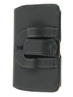 Motorola ATRIX 4G MB860 Synthetic Leather Belt Pouch - Black