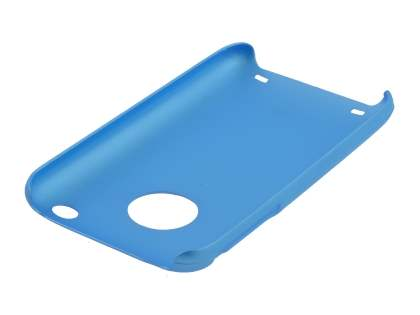 iPhone 3GS/3G Colour Case plus Screen Protector - Sky Blue