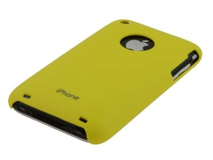 Colour Case for iPhone 3GS/3G - Canary Yellow