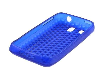 HTC Legend TPU Gel Case - Diamond Blue