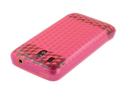 HTC Legend TPU Gel Case - Diamond Pink