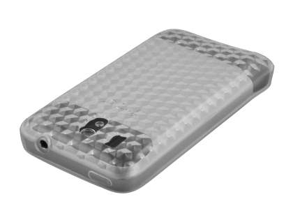 HTC Legend TPU Gel Case - Diamond Clear