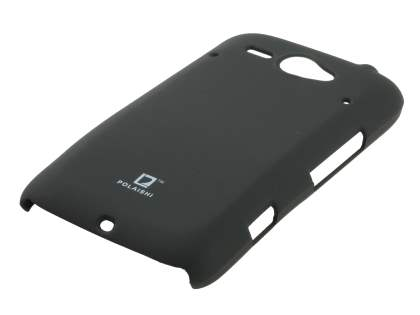 POLAISHI HTC ChaCha Ultra Slim Case plus Screen Protector - Classic Black