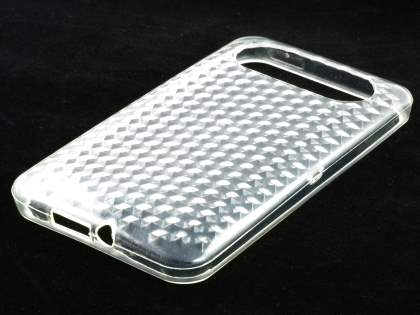 HTC HD7 TPU Gel Case - Diamond Clear