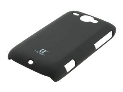 POLAISHI HTC Wildfire G8 Ultra Slim Case plus Screen Protector - Classic Black