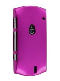 UltraTough Glossy Slim Case for Sony Ericsson Xperia NEO - Pink Hard Case