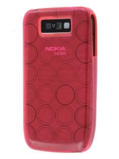 TPU Gel Case for Nokia E63 - Hot Pink Soft Cover