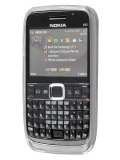 Nokia E63 TPU Gel Case - Frosted Clear