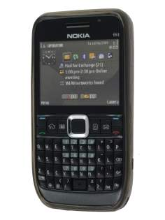 Nokia E63 TPU Gel Case - Diamond Grey