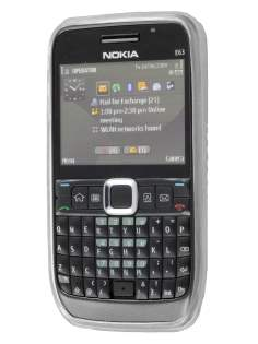 Nokia E63 TPU Gel Case - Diamond Clear