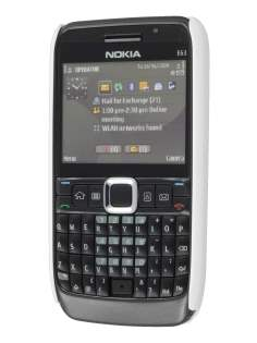 Nokia E63 Dream Mesh Case - Pearl White