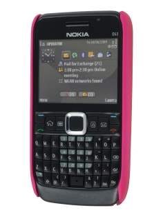 Nokia E63 Dream Mesh Case - Hot Pink
