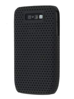 Slim Mesh Case for Nokia E63 - Black Hard Case