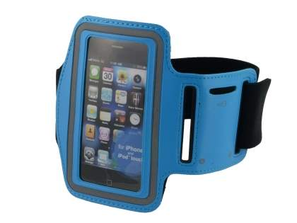 Universal Sports Arm Band for iPhone 4S/4 - Sky Blue Sports Arm Band