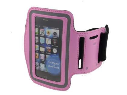 Universal Sports Arm Band for iPhone 4S/4 - Pink Sports Arm Band